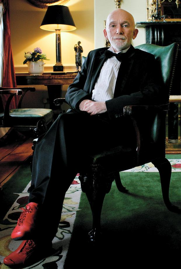 Fashion Designer Richard Lewis. Picture By David Conachy. 7/3/07