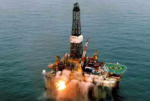 Providence Resources' GSF Arctic III rig, which was used in drilling at Barryroe, 50km from the west Cork coast