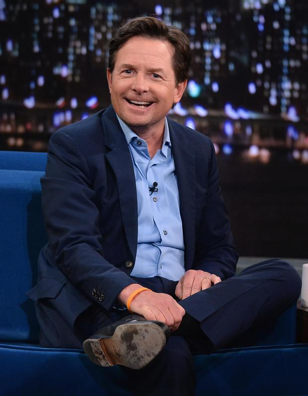 Actor Michael J.Fox in 2014
