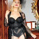 Louise O'Reilly at the Arnotts Autumn Winter 2014 Lingerie Collections in their Henry St Store. Picture: Kieran Harnett