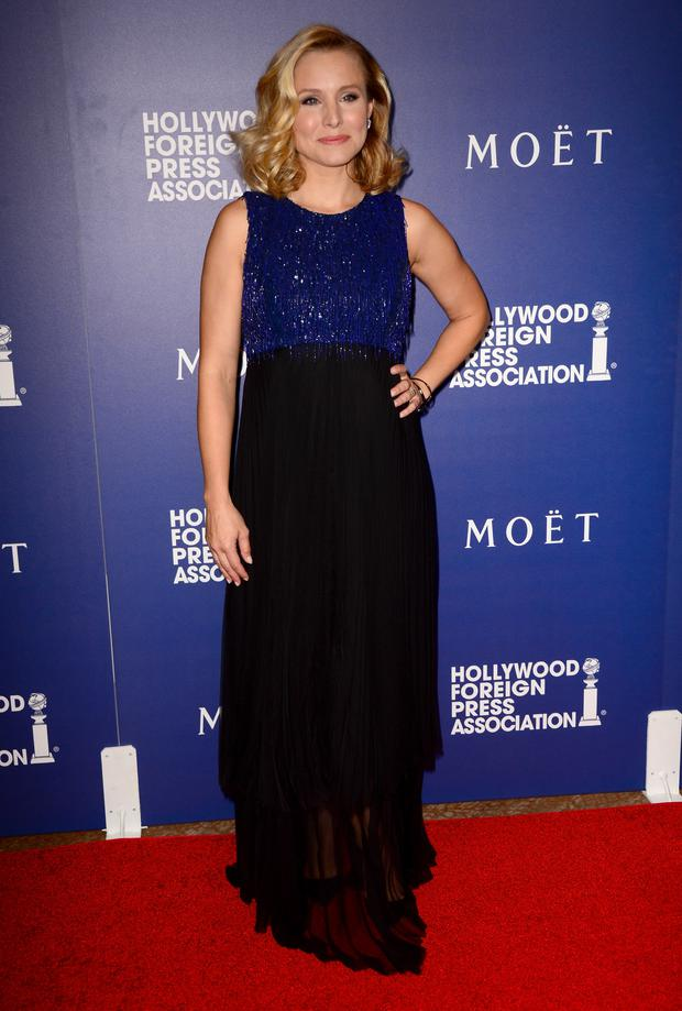 Actress Kristen Bell attends the Hollywood Foreign Press Association's Grants Banquet at The Beverly Hilton Hotel