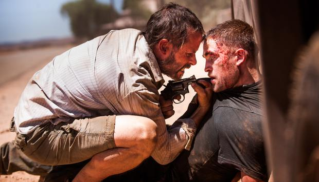 Guy Pearce and Robert Pattinson in 'The Rover'
