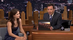 Eve Hewson on The Tonight Show with Jimmy Fallon