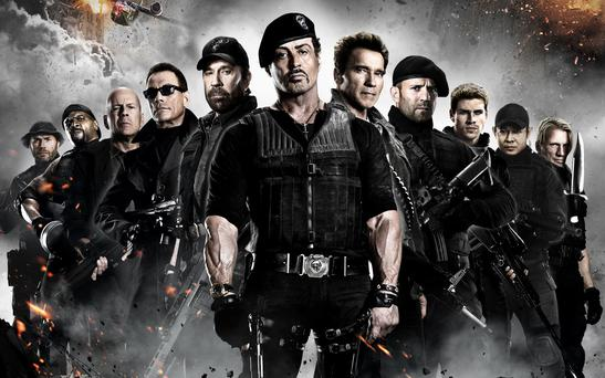 The cast of Expendables 3