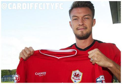 Anthony Pilkington has joined Cardiff