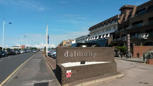 The exterior of the Dalmeny Hotel, in St Annes, near Blackpool, where a three-year-old girl drowned in the hotel swimming pool Pat Hurst/PA Wire
