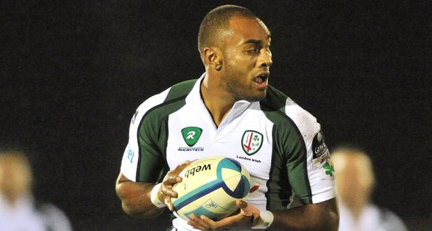 Sailosi Tagicakibau made 158 appearances, scoring 58 tries, for London Irish (Paul Mohan / SPORTSFILE)