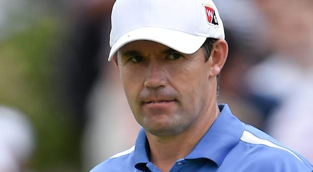Padraig Harrington banked just $169,175 in prizemoney (Brendan Moran / SPORTSFILE)