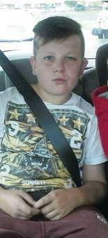 Caoimhin Russell who was set alight in an attack
