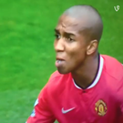 Ashley Young was rousing his team mates when this happened
