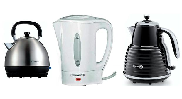 Left to right: Kenwood SKM 100, Argos Cookworks, DeLonghi Scultura KBZ3001.