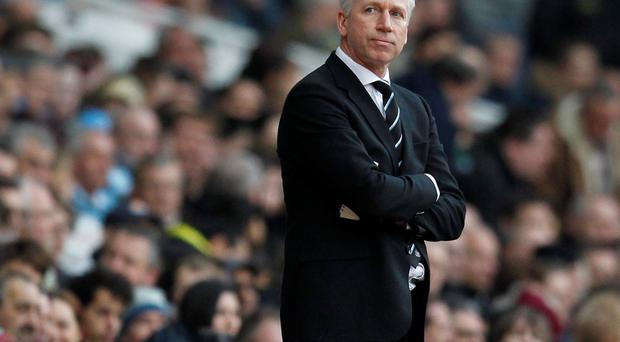 A rebel player, angry fans and unhappy backroom staff could spell trouble for Alan Pardew. Photo credit: IAN KINGTON/AFP/Getty Images