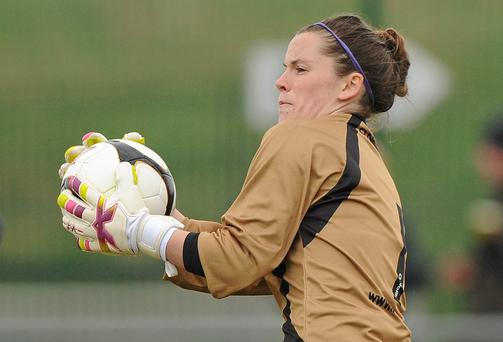 Raheny United goalkeeper Niamh Reid