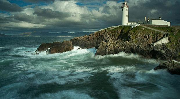 Fanad Lighthouse in Co Donegal