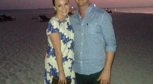 Mairead and fiance Louis Ronan