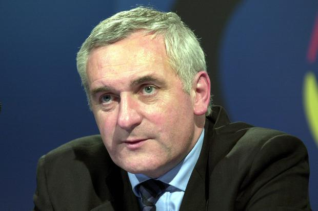 Bertie Ahern introduced a referendum as Taoiseach in 2002