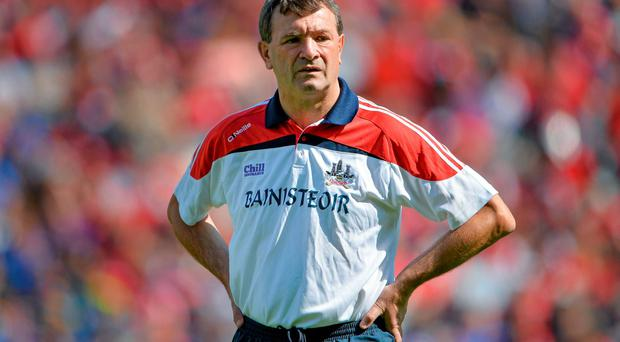 Cork manager Jimmy Barry-Murphy has yet to give any firm indication whether he will seek to extend his time in charge into a fourth year. Photo: Brendan Moran / SPORTSFILE
