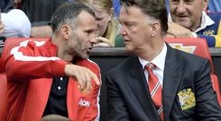 All eyes may be on Manchester United boss Louis van Gaal, alongside his assistant Ryan Giggs, but Ed Woodward's role before the transfer window shuts could dictate the club's fortunes this season. Photo: Martin Rickett/PA Wire