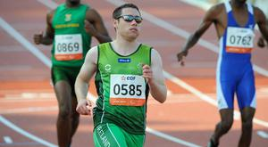 Ireland's Paralympic sprinter Jason Smyth will be hoping to add to his medal haul at Rio