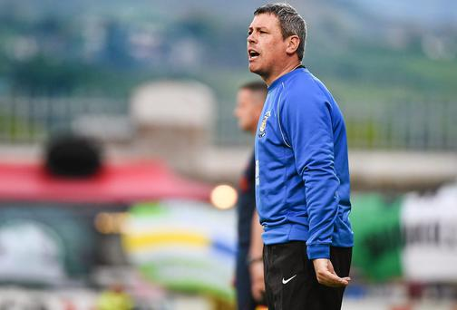 Athlone Town manager Keith Long will feel his side should have picked up more than just the single point against UCD . Photo: Pat Murphy / SPORTSFILE