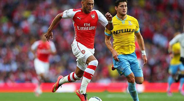 Right way: Alex Oxlade-Chamberlain sets the example for other young hopefuls to follow by taking responsibility on and off the pitch