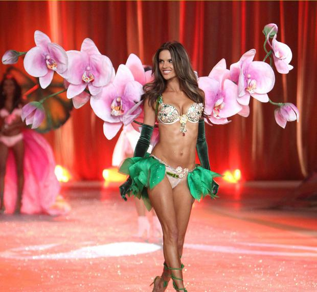 502d935f5d Inside Alessandra Ambrosio s pre-Victoria s Secret Fashion Show workout  regime. Alessandra Ambrosio earned  5.41m