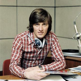 Pat Kenny in the early days of his radio career at RTE