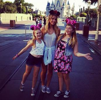 Brian McFadden shows off his family Disney World trip (Photo: Instagram/Brian McFadden)