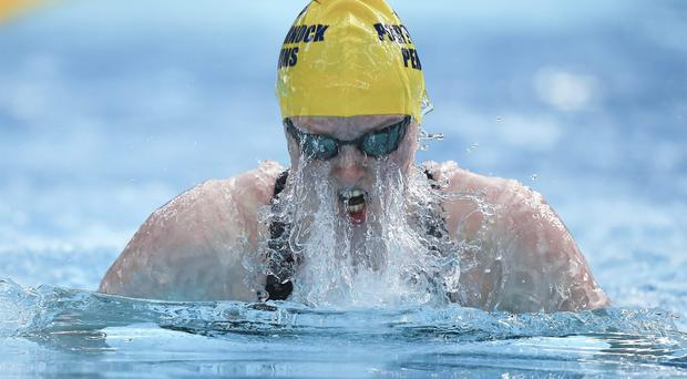 Fiona Doyle knows that even equalling her personal best would have placed her into the 100m breaststroke final. Photo: Paul Mohan / SPORTSFILE