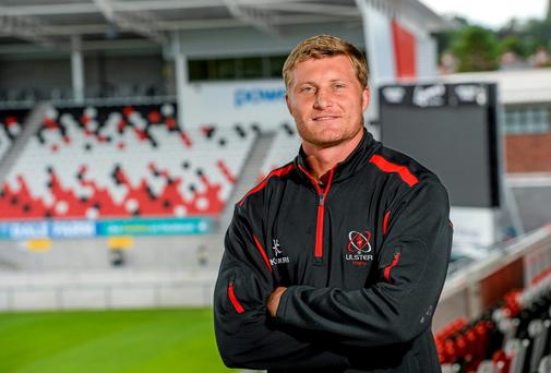Ulster's Franco van der Merwe will be under pressure from the supporters to demonstrate he can follow the example of former captain Johann Muller. Photo: Oliver McVeigh / SPORTSFILE