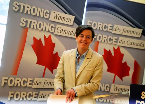 Canada's minister for women's issues, Dr. Kellie Leitch, said she will be contacting the country's largest companies in a campaign to increase the number of woman on company boards. Photo credit: Colin McConnell/Toronto Star via Getty Images