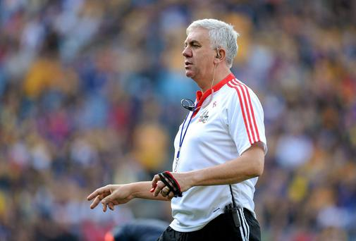 Cork hurling great Ger Cunningham admits that the feelings of hurt over Sunday's senior semi-final collapse against Tipperary are almost too intense for an in-depth analysis. Photo: Brendan Moran / SPORTSFILE