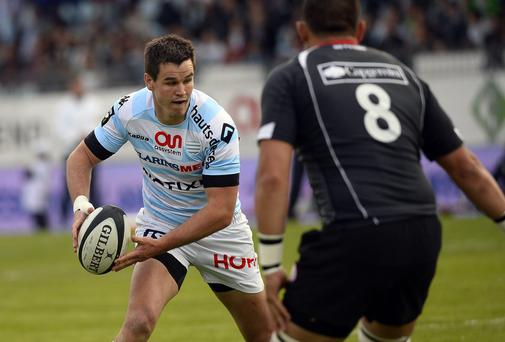 Racing Metro will be anxious to hold on to Jonathan Sexton for at least a third season. Photo: LIONEL BONAVENTURE/AFP/Getty Images