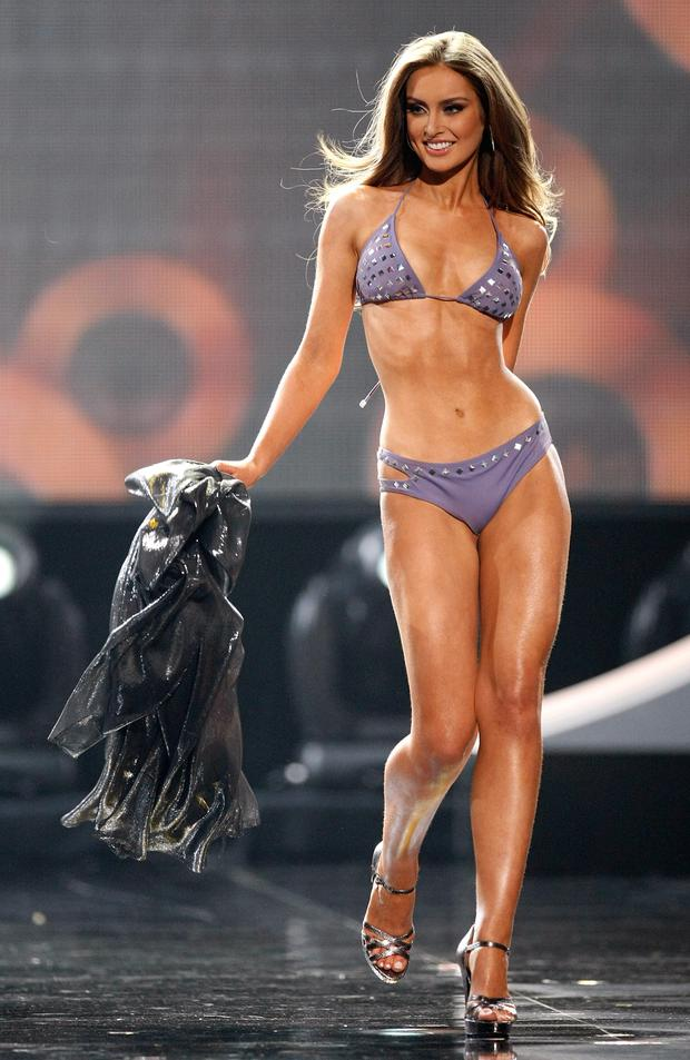 Roz represented Ireland at the Miss Universe pageant in 2010