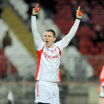 Tommy McGuigan in action for Tyrone in 2009. Photo: Sportsfile