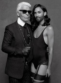 Photo: Karl Lagerfeld/ CR Fashion Book