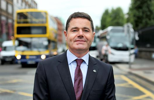 Newly appointed Minister for Transport, Paschal Donohoe, has already been landed with a major test in the form of the upcoming rail strike. Photo credit: Gerry Mooney