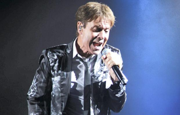 Cliff Richard on the stage at the Live at the Marquee Cork 2014 (Miki Barlok)