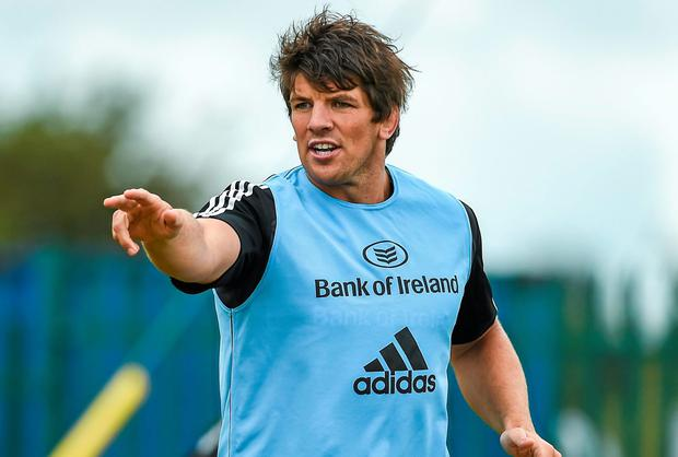 Donncha O'Callaghan says he is as fresh as ever and still has plenty to offer to Munster. Photo: Diarmuid Greene / SPORTSFILE