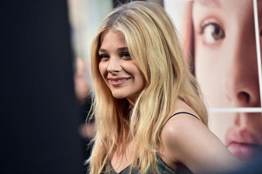 """Actress Chloe Grace Moretz attends the premiere of New Line Cinema's and Metro-Goldwyn-Mayer Pictures' """"If I Stay"""" at TCL Chinese Theatre"""