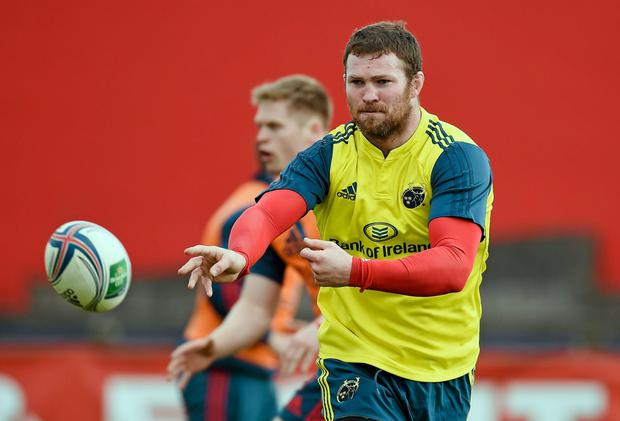 Donnacha Ryan is raring to go after an injury-ravaged 2013-14 campaign. Picture credit: Diarmuid Greene / SPORTSFILE