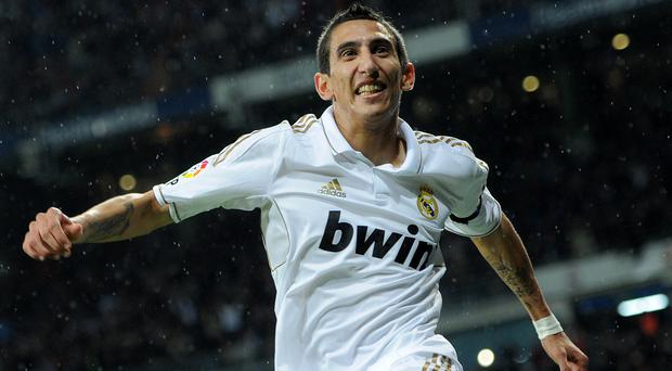 Manchester United target Angel Di Maria has rejected the offer of a new contract at Real Madrid. Photo credit: Jasper Juinen/Getty Images