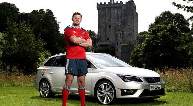 Munster Star Donnacha Ryan is a brand ambassador for SEAT Ireland and recently received the keys to his all new SEAT Leon Sports Tourer FR. To see the full SEAT range log on to www.seat.ie