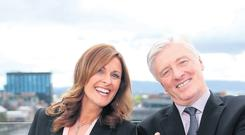 Pat Kenny and Alison Comyn at the UTV preview launch