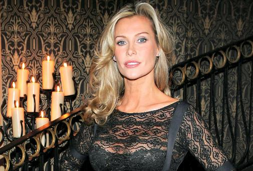 Irish actress and former Bond girl, Alison Doody.