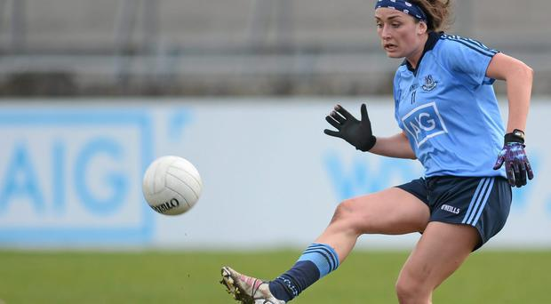 Niamh McEvoy and Dublin had to much quality for Kerry in their All-Ireland quarter-final. Pat Murphy / SPORTSFILE