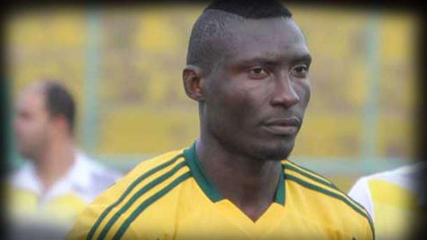 Cameroon striker Albert Ebosse