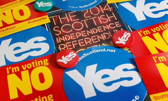 Scotland's referendum will be held on 18 September