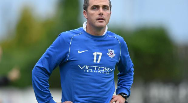 Drogheda United's assistant manager Darius Kierans was satisfied with how his team coped with non-league Ballynanty Rovers. Picture credit: Paul Mohan / SPORTSFILE