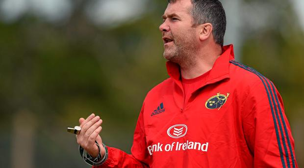 Munster head coach Anthony Foley. Picture credit: Diarmuid Greene / SPORTSFILE